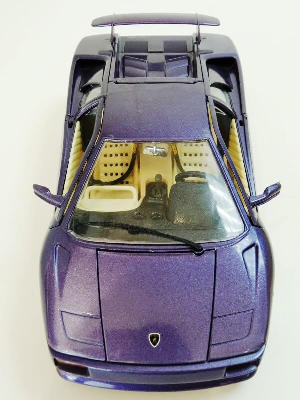 Lamborghini Diablo - 1990 - BBurago 1/18 ème Ldiabl18