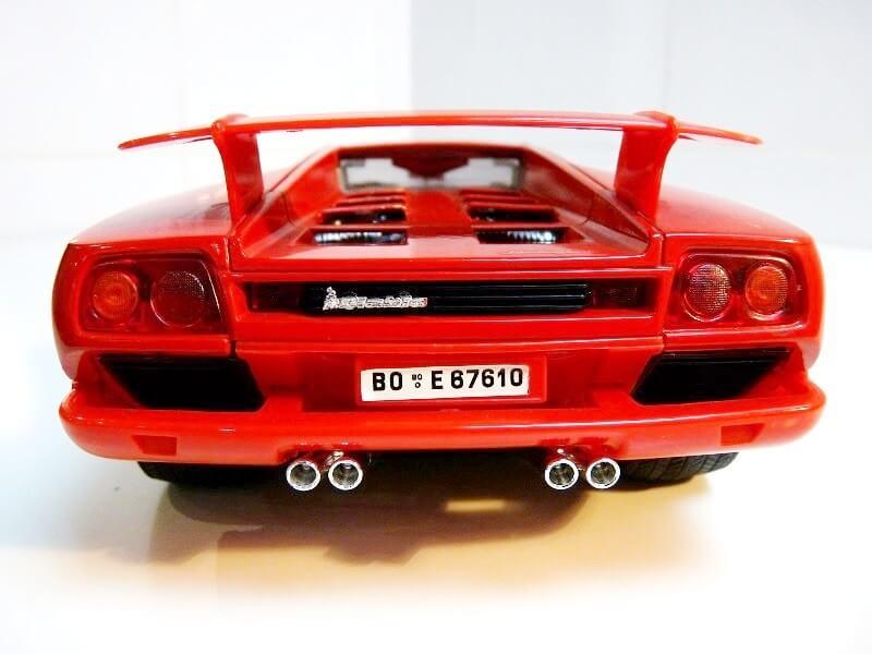 Lamborghini Diablo VT - 1996 - Bburago 1/18 ème Ldvt1914