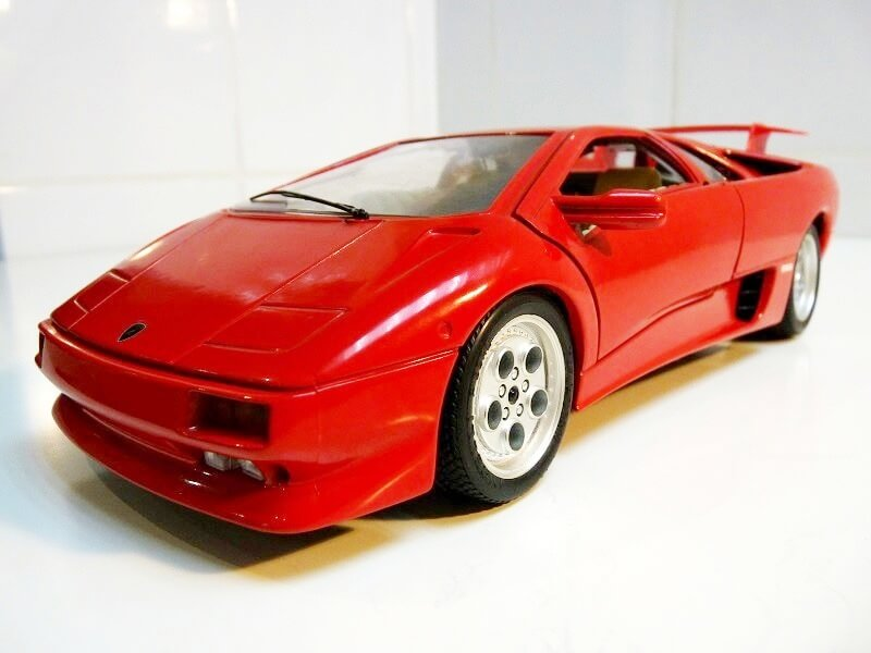Lamborghini Diablo VT - 1996 - Bburago 1/18 ème Ldvt1915