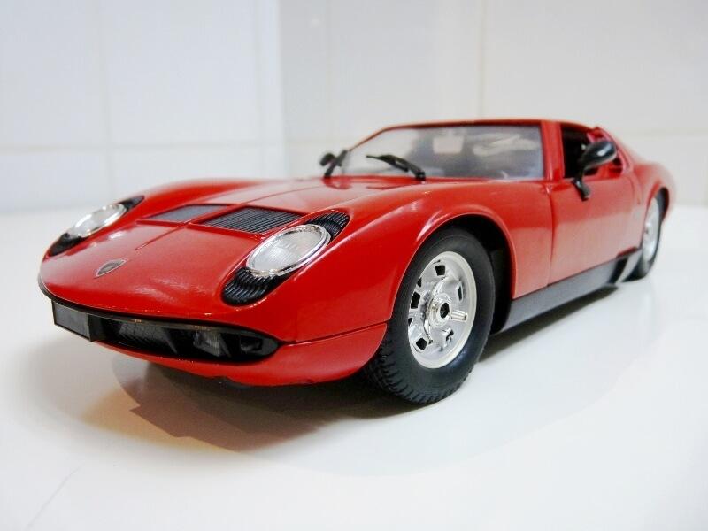 Lamborghini Miura 400S - 1970 - Polistil 1/18ème Lm400s10
