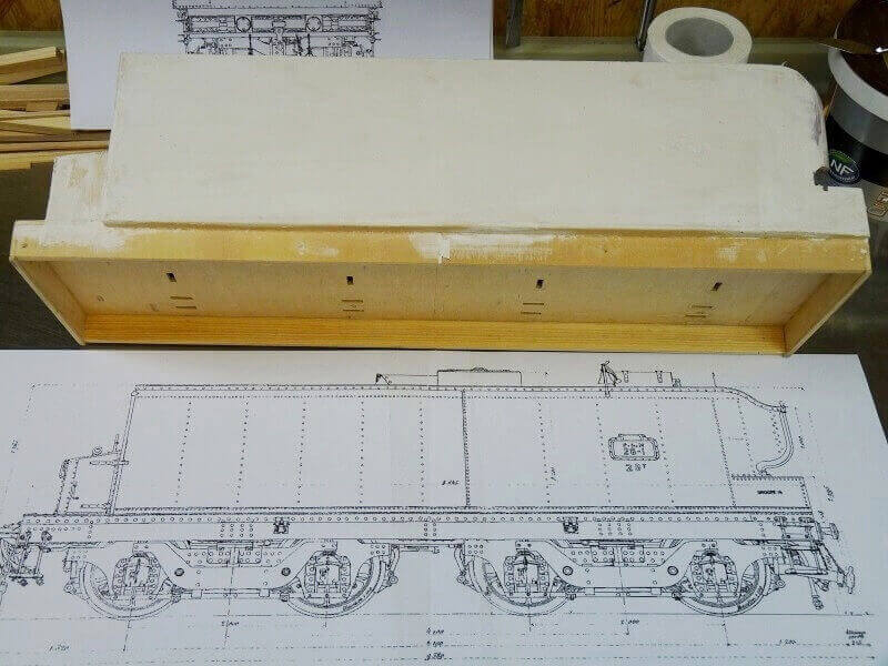 Locomotive 231 PLM 6001 Type Pacific prototype 1909 Lop_1714