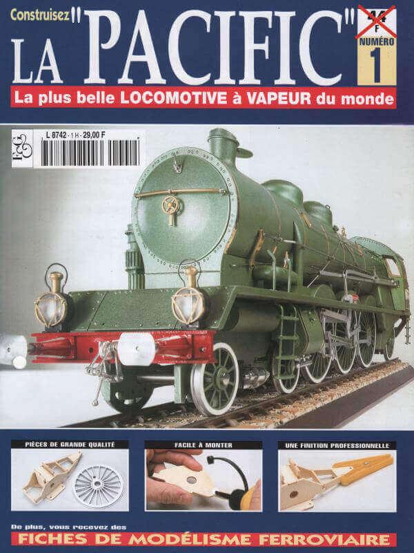 Locomotive 231 PLM 6001 Type Pacific - Kit bois et métal - Echelle 1/20 Lop_310