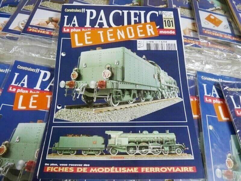 Locomotive 231 PLM 6001 Type Pacific - Kit bois et métal - Echelle 1/20 Lop_510