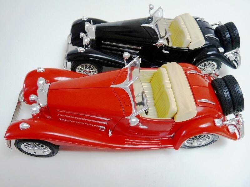 Mercedes Benz 500 K Roadster - 1936 - BBurago 1/18 ème M500kr10
