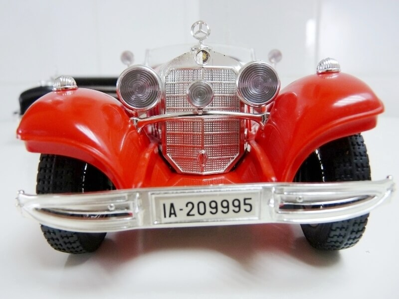 Mercedes Benz 500 K Roadster - 1936 - BBurago 1/18 ème M500kr12