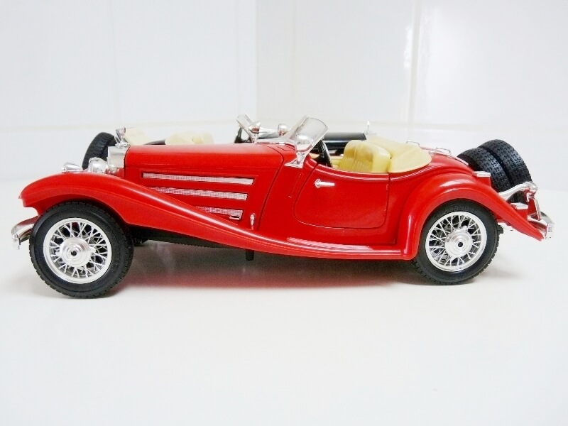 Mercedes Benz 500 K Roadster - 1936 - BBurago 1/18 ème M500kr13