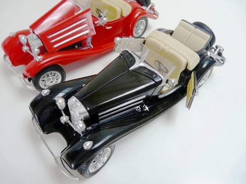 Mercedes Benz 500 K Roadster - 1936 - BBurago 1/18 ème M500kr16