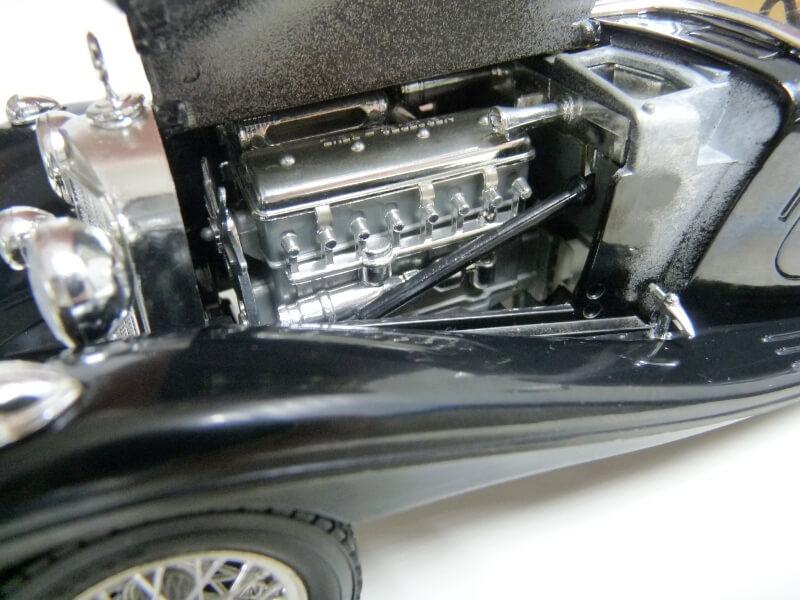Mercedes Benz 500 K Roadster - 1936 - BBurago 1/18 ème M500kr21