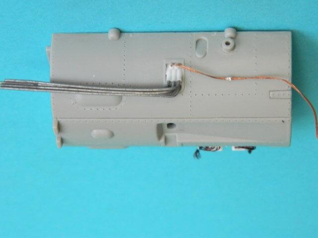 Messerschmitt 262 A 1a - Trumpeter 1/32 - Par fombec - Fini Ma001210