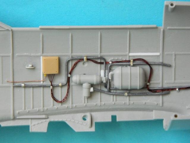 Messerschmitt 262 A 1a - Trumpeter 1/32 - Par fombec - Fini Ma001410