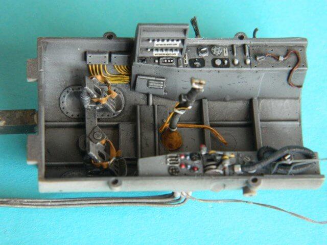 Messerschmitt 262 A 1a - Trumpeter 1/32 - Par fombec - Fini Ma002210