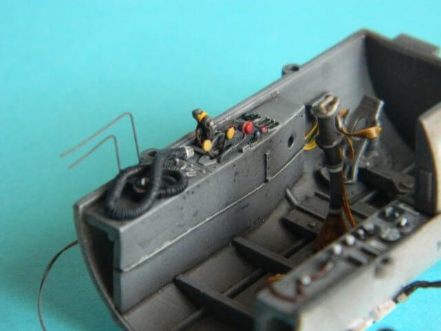 Messerschmitt 262 A 1a - Trumpeter 1/32 - Par fombec - Fini Ma002310