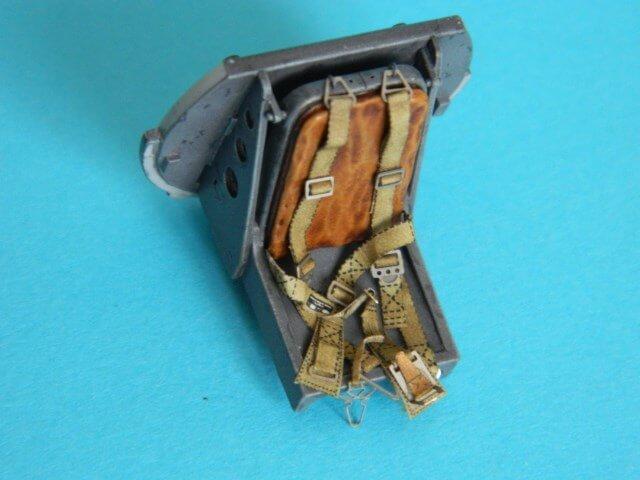 Messerschmitt 262 A 1a - Trumpeter 1/32 - Par fombec - Fini Ma002410