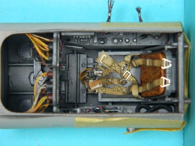 Messerschmitt 262 A 1a - Trumpeter 1/32 - Par fombec - Fini Ma002610