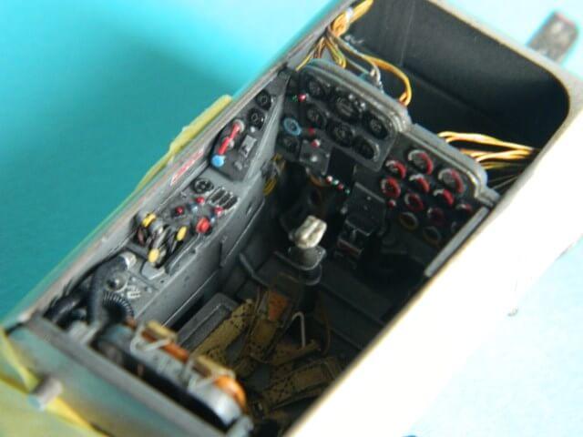 Messerschmitt 262 A 1a - Trumpeter 1/32 - Par fombec - Fini Ma002810