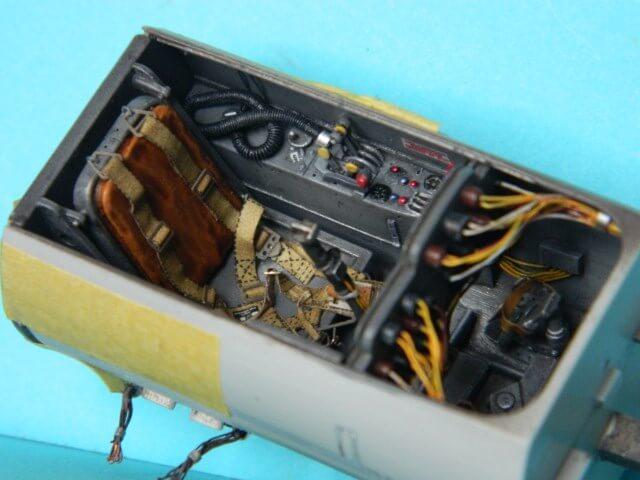 Messerschmitt 262 A 1a - Trumpeter 1/32 - Par fombec - Fini Ma002910