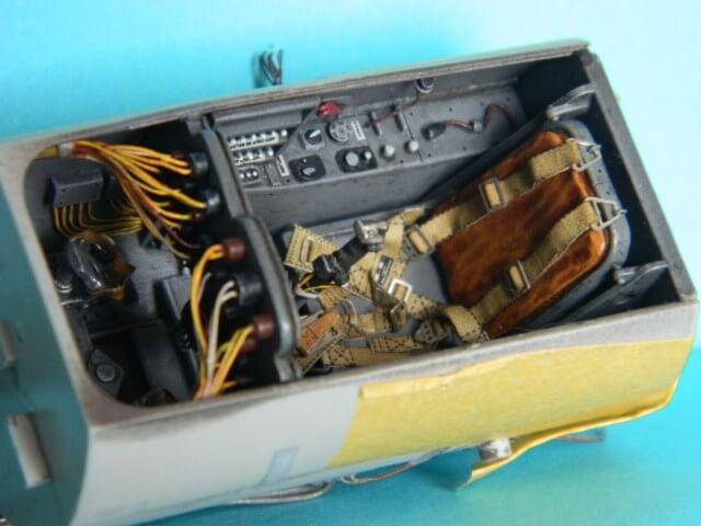 Messerschmitt 262 A 1a - Trumpeter 1/32 - Par fombec - Fini Ma003010
