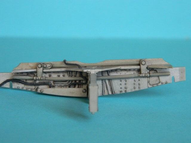 Messerschmitt 262 A 1a - Trumpeter 1/32 - Par fombec - Fini Ma003410