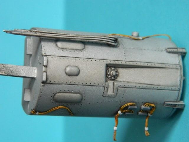 Messerschmitt 262 A 1a - Trumpeter 1/32 - Par fombec - Fini Ma003710