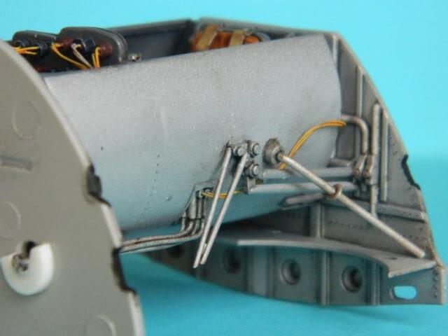 Messerschmitt 262 A 1a - Trumpeter 1/32 - Par fombec - Fini Ma003810