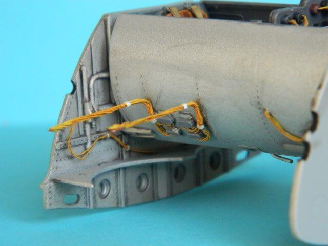 Messerschmitt 262 A 1a - Trumpeter 1/32 - Par fombec - Fini Ma003910