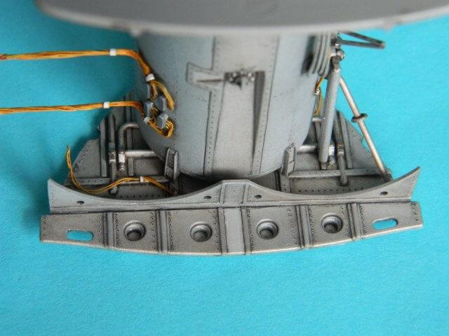 Messerschmitt 262 A 1a - Trumpeter 1/32 - Par fombec - Fini Ma004010