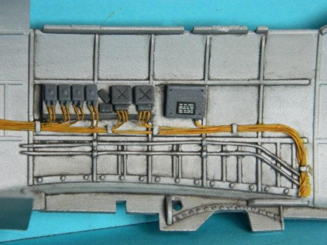 Messerschmitt 262 A 1a - Trumpeter 1/32 - Par fombec - Fini Ma004110