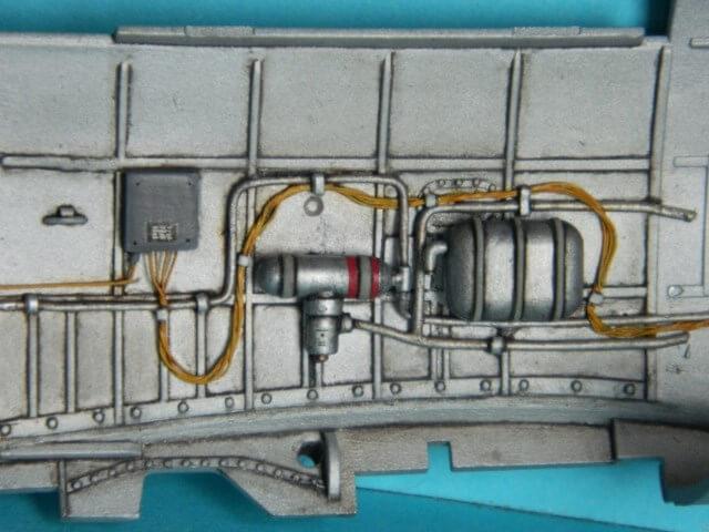 Messerschmitt 262 A 1a - Trumpeter 1/32 - Par fombec - Fini Ma004210