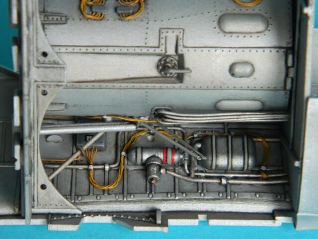 Messerschmitt 262 A 1a - Trumpeter 1/32 - Par fombec - Fini Ma004310