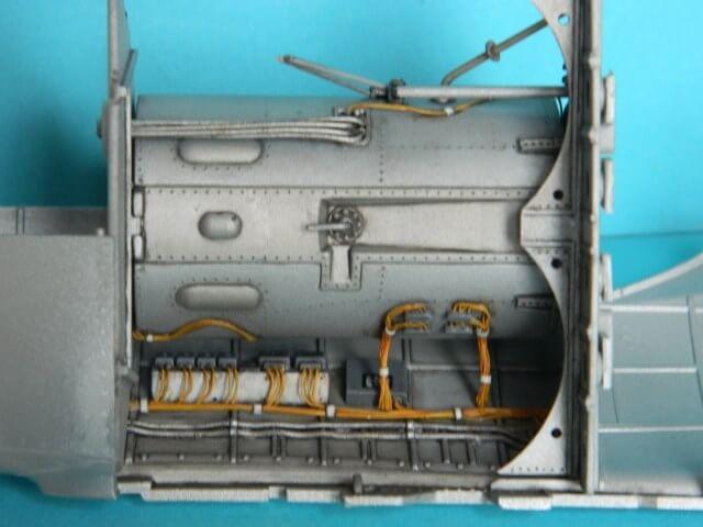 Messerschmitt 262 A 1a - Trumpeter 1/32 - Par fombec - Fini Ma004410