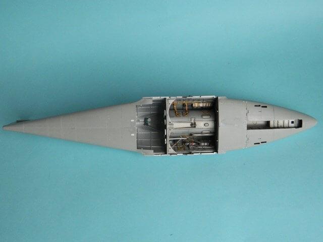 Messerschmitt 262 A 1a - Trumpeter 1/32 - Par fombec - Fini Ma004710