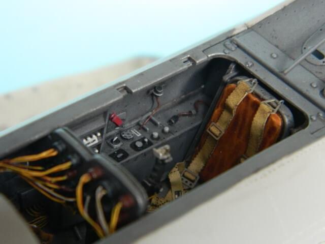 Messerschmitt 262 A 1a - Trumpeter 1/32 - Par fombec - Fini Ma005110