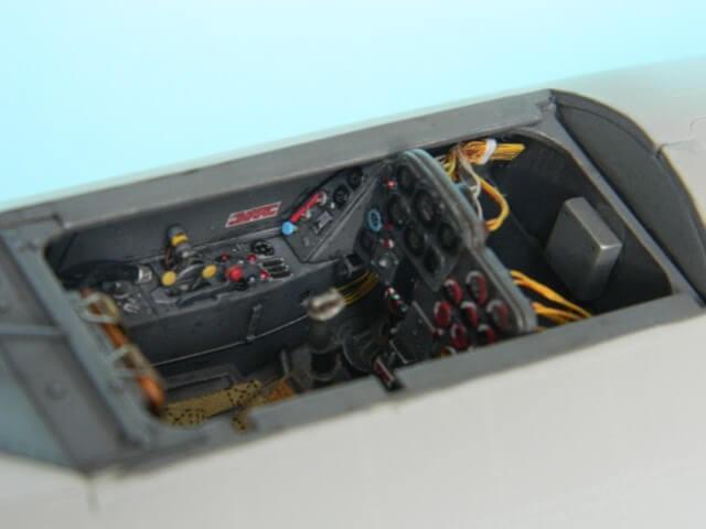 Messerschmitt 262 A 1a - Trumpeter 1/32 - Par fombec - Fini Ma005210