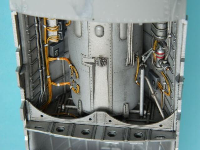 Messerschmitt 262 A 1a - Trumpeter 1/32 - Par fombec - Fini Ma005510