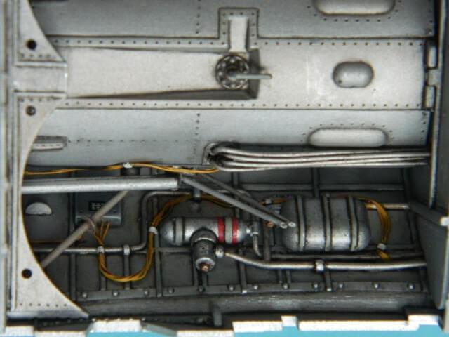 Messerschmitt 262 A 1a - Trumpeter 1/32 - Par fombec - Fini Ma005710