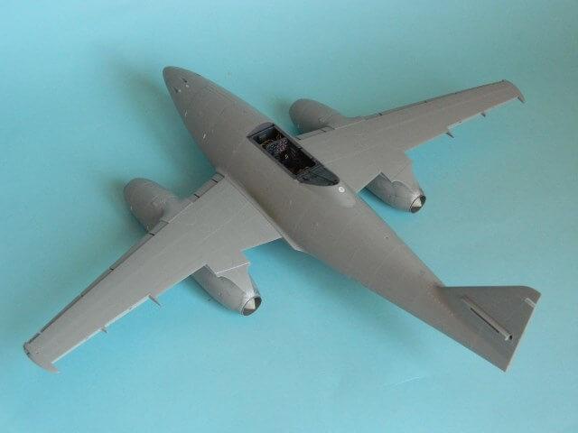 Messerschmitt 262 A 1a - Trumpeter 1/32 - Par fombec - Fini Ma007110