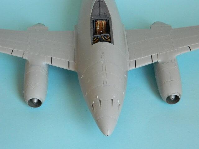 Messerschmitt 262 A 1a - Trumpeter 1/32 - Par fombec - Fini Ma007210