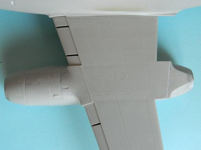 Messerschmitt 262 A 1a - Trumpeter 1/32 - Par fombec - Fini Ma007310