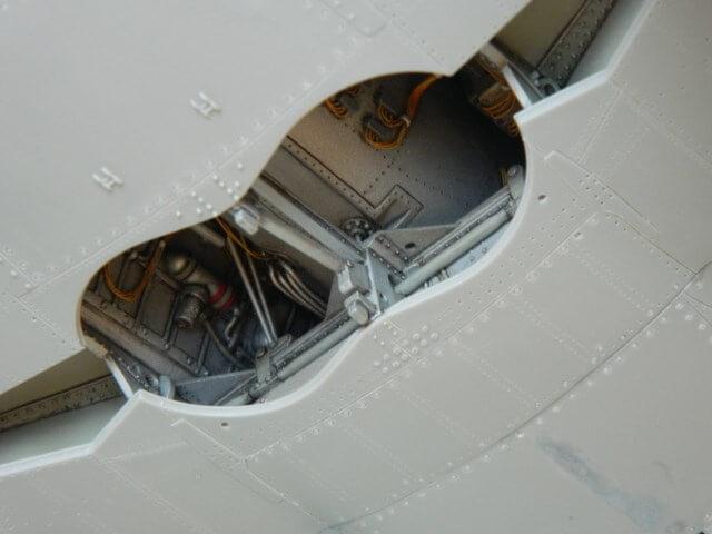 Messerschmitt 262 A 1a - Trumpeter 1/32 - Par fombec - Fini Ma007410