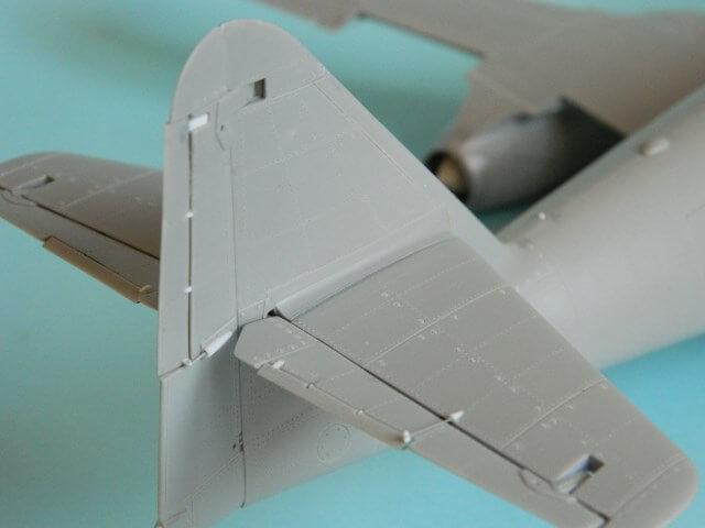 Messerschmitt 262 A 1a - Trumpeter 1/32 - Par fombec - Fini Ma008010