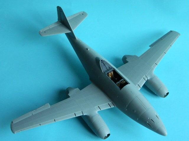 Messerschmitt 262 A 1a - Trumpeter 1/32 - Par fombec - Fini Ma008410