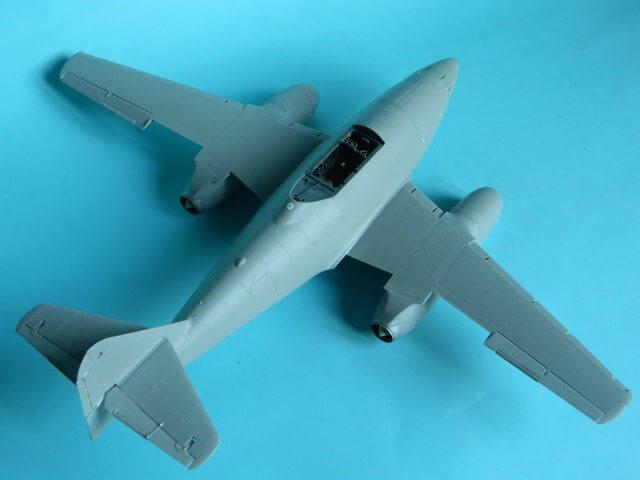 Messerschmitt 262 A 1a - Trumpeter 1/32 - Par fombec - Fini Ma008510