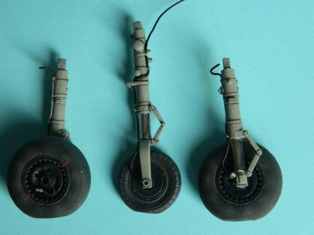 Messerschmitt 262 A 1a - Trumpeter 1/32 - Par fombec - Fini Ma010010