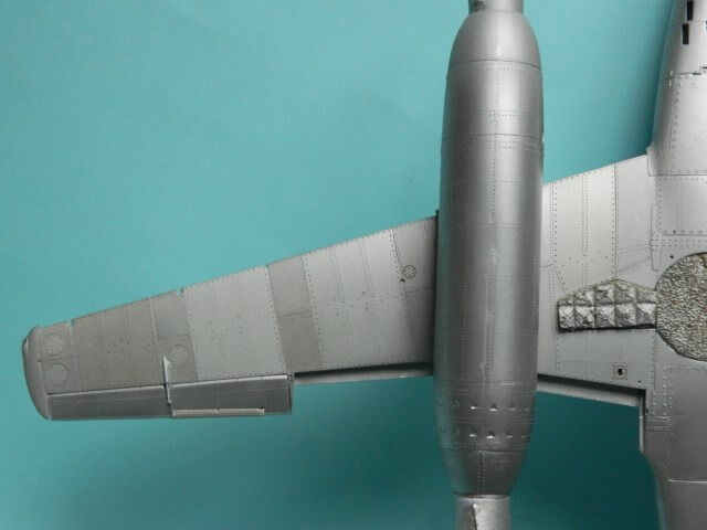 Messerschmitt 262 A 1a - Trumpeter 1/32 - Par fombec - Fini Ma011110