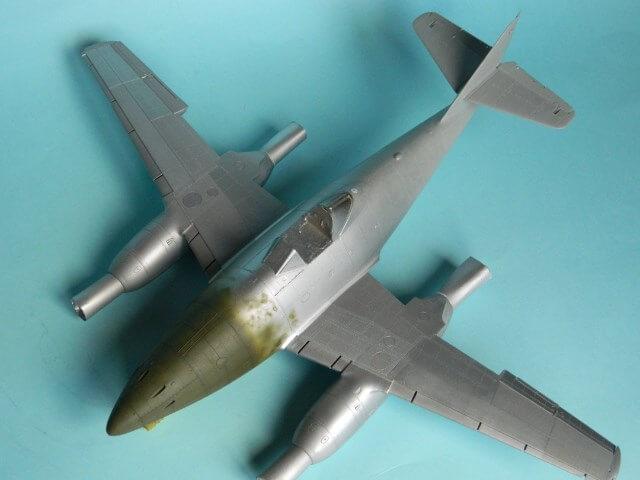 Messerschmitt 262 A 1a - Trumpeter 1/32 - Par fombec - Fini Ma011210