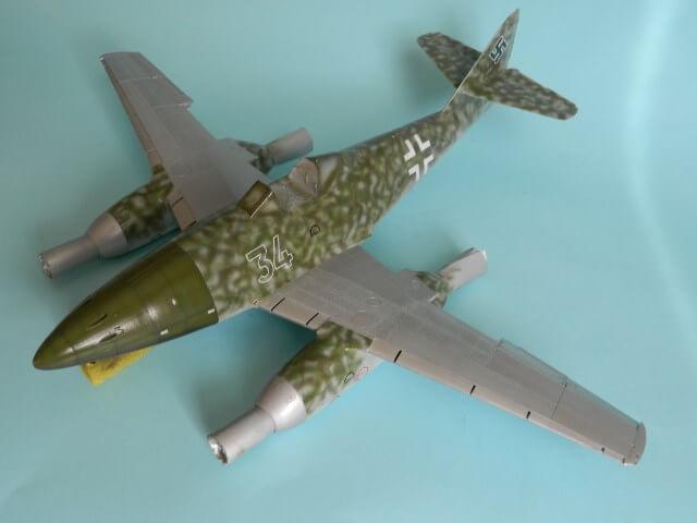 Messerschmitt 262 A 1a - Trumpeter 1/32 - Par fombec - Fini Ma011310