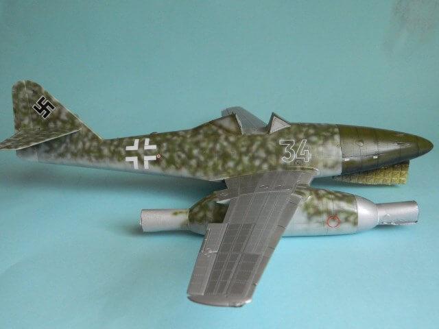 Messerschmitt 262 A 1a - Trumpeter 1/32 - Par fombec - Fini Ma011610