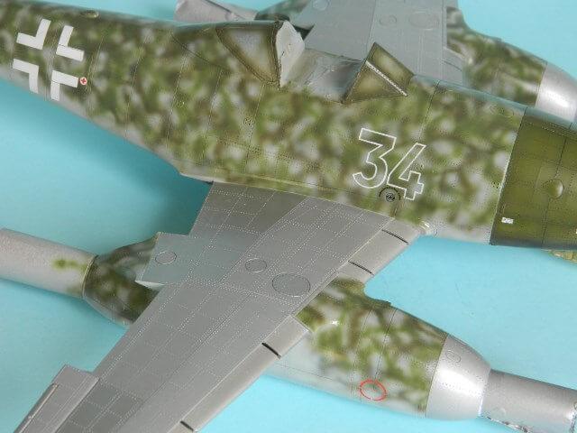 Messerschmitt 262 A 1a - Trumpeter 1/32 - Par fombec - Fini Ma011710