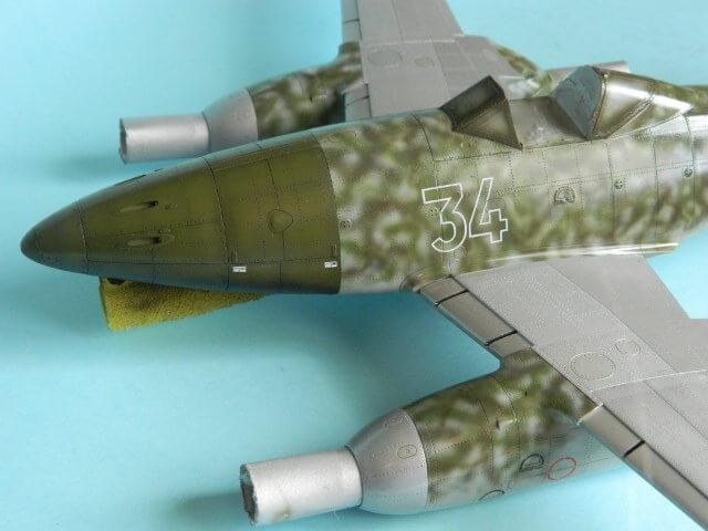 Messerschmitt 262 A 1a - Trumpeter 1/32 - Par fombec - Fini Ma011810
