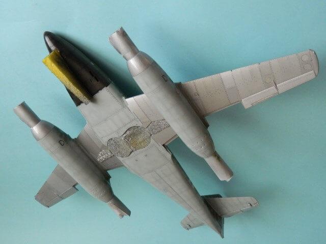 Messerschmitt 262 A 1a - Trumpeter 1/32 - Par fombec - Fini Ma011910